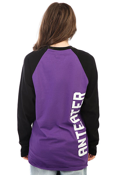 Лонгслив женский Anteater Long053 Purple/Black