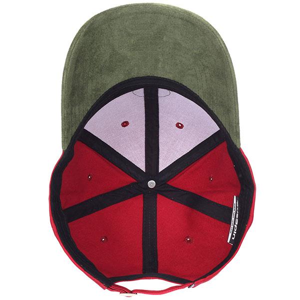 Бейсболка классическая TrueSpin Anker Bordeaux/Green