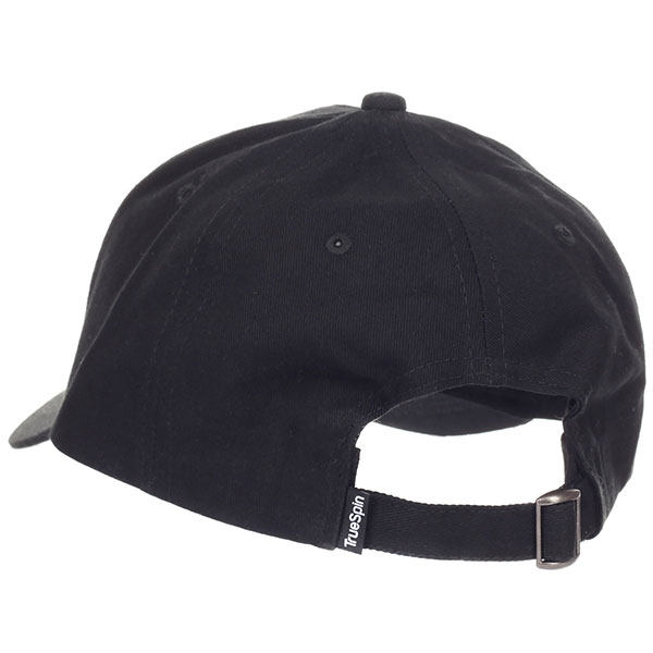 Бейсболка классическая TrueSpin Blank Round Visor Cap Black
