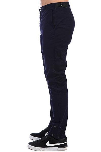 Штаны прямые Skills Btns Pants Темно-синий