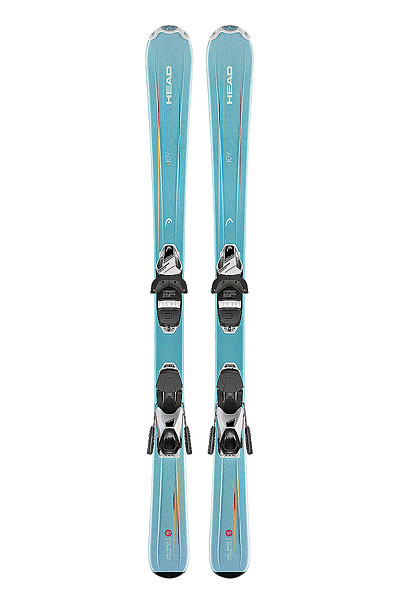 Горные лыжи Head Joy Slr2 (67-107) + Slr 4.5 Ac Brake 74 [i] Turquoise/White
