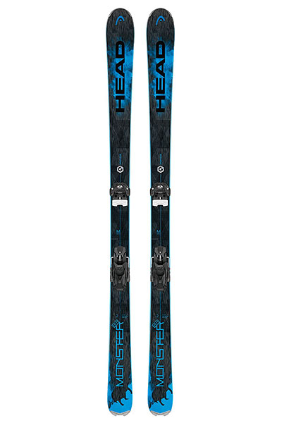 Горные лыжи Head Monster 83 TI Black/Neon Blue