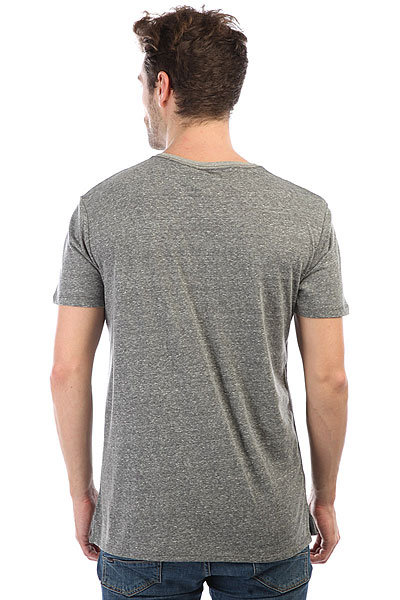 Футболка Quiksilver Brokenleash Dark Grey Heather