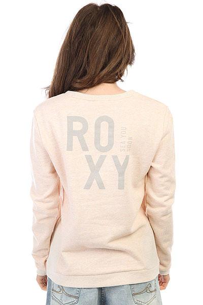 Свитшот женский Roxy Ready To Stay Tropical Peach