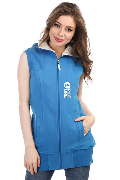 Жилетка женская Picture Organic Sweat Street Home Blue