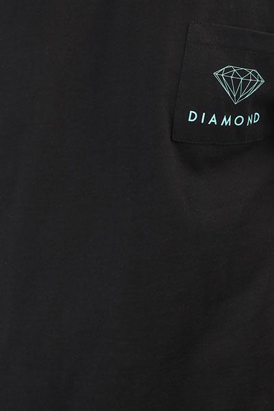 Футболка Diamond Futura Sign Pocket Black