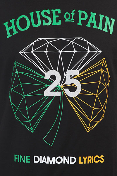 Футболка Diamond H.o.p Diamond Black