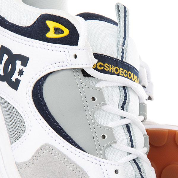 Кроссовки DC Kalis Lite White/Grey/Yellow