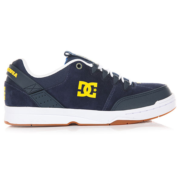 Кеды низкие DC Syntax Navy/White