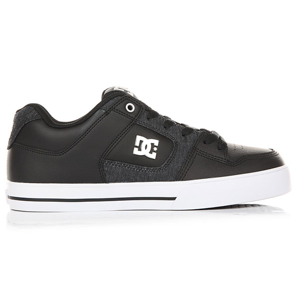 Кеды низкие DC Pure Se Black/Grey