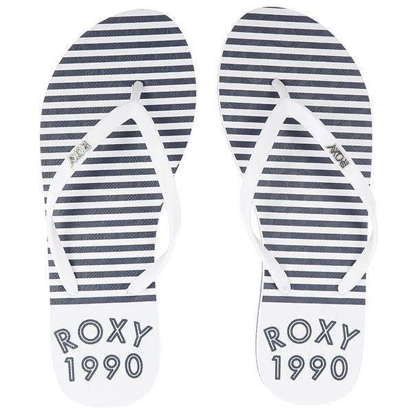 Вьетнамки женские Roxy Viva Stamp Ii White