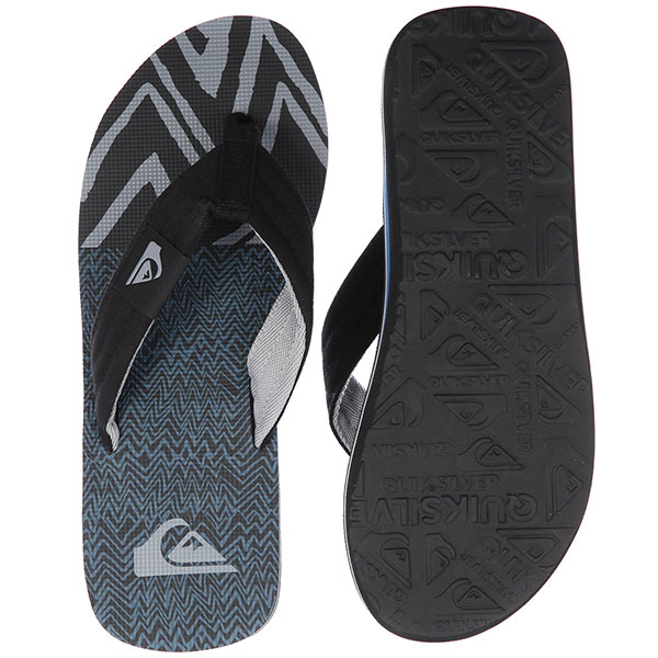 Вьетнамки Quiksilver Molokai Layback Black/Blue/Grey