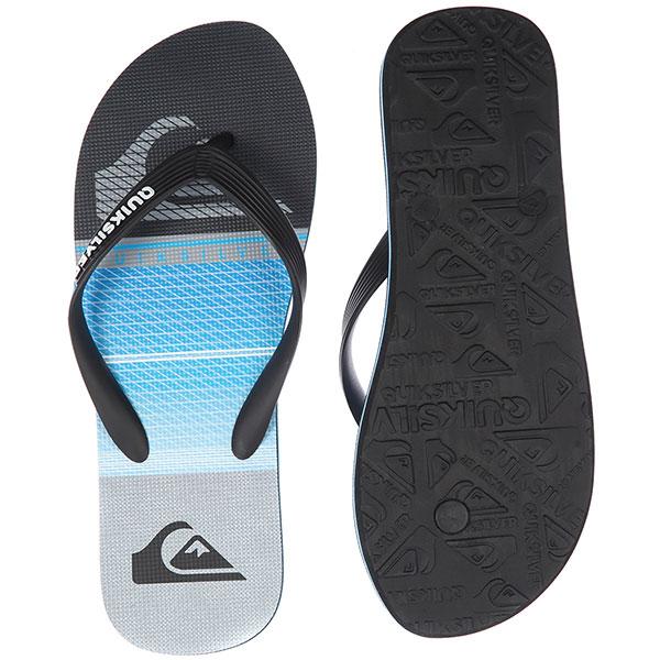 Вьетнамки Quiksilver Molohighlinslab Black/Blue/Grey