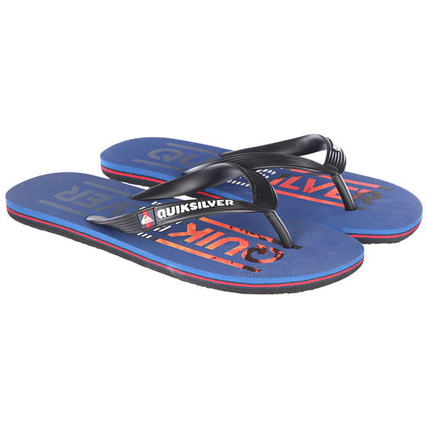 Вьетнамки Quiksilver Molokai Wordmar Black/Navy