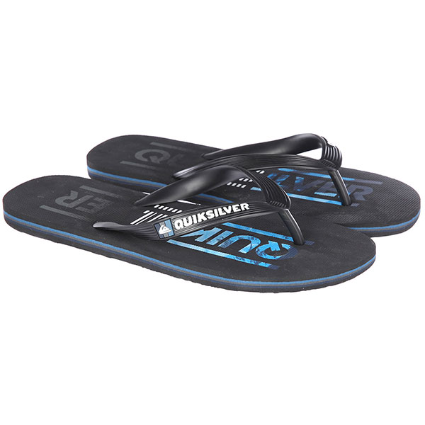Вьетнамки Quiksilver Molokai Wordmar Black/Blue