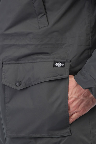 Куртка парка Dickies Curtis Charcoal Grey