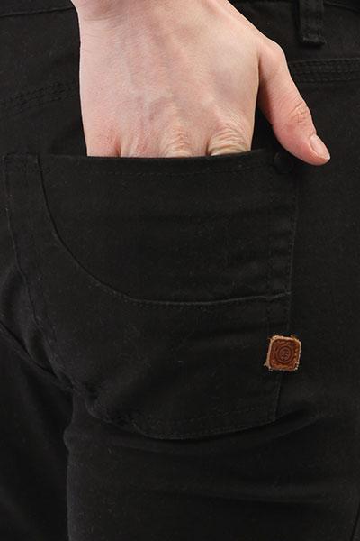 Джинсы узкие женские Element Sticker Black