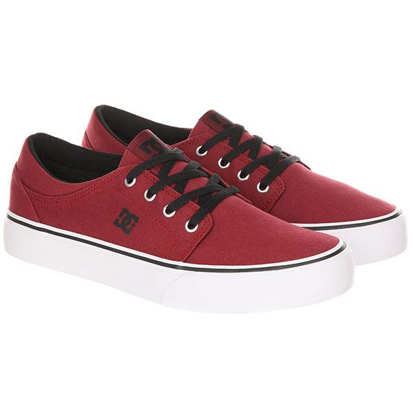 Кеды детские DC Trase TX B Shoe Dark Red