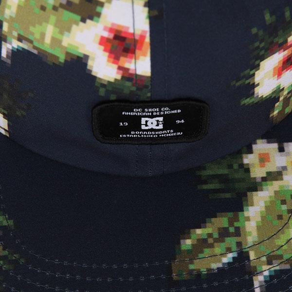 Бейсболка с прямым козырьком DC Realstead Dark Indigo Hibygard