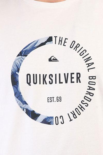 Футболка Quiksilver Ssclassirevenge White