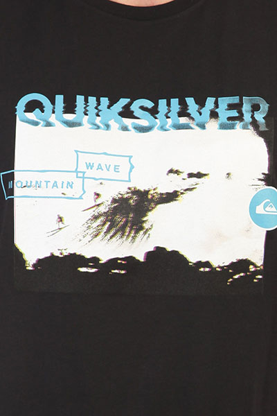 Футболка Quiksilver Ssclablackhoriz Black