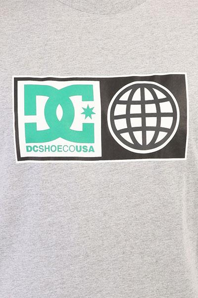 Футболка DC Global Salute Grey Heather