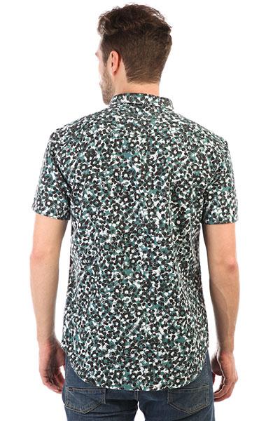 Рубашка Quiksilver Sslinenprintshi Mallard Linen