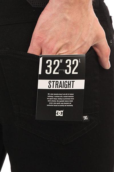 Джинсы прямые DC Straight Black Rinse