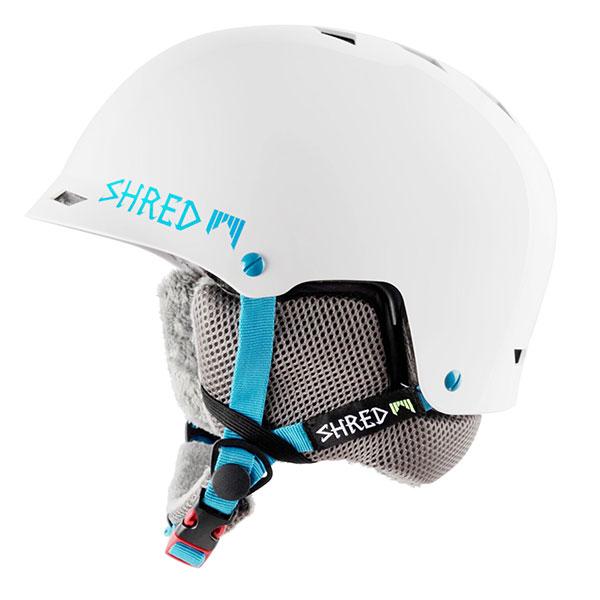 Шлем для сноуборда Shred Half Brain Flurry White