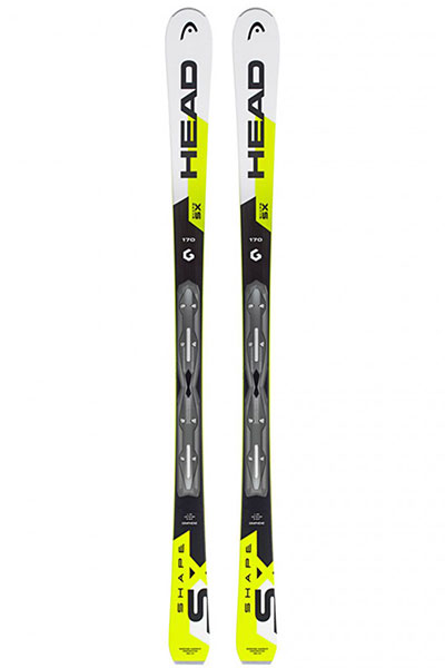 Горные лыжи Head Shape Sx Ab White/Neon Yellow/Black