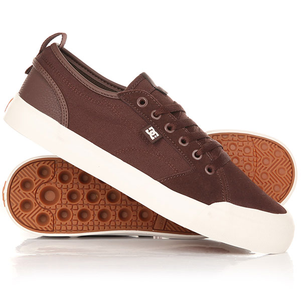 Кеды низкие DC Evan Smith Brown/Gum
