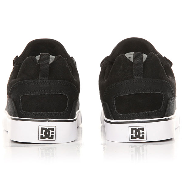 Кеды низкие DC Heathrow Vulc Black/White