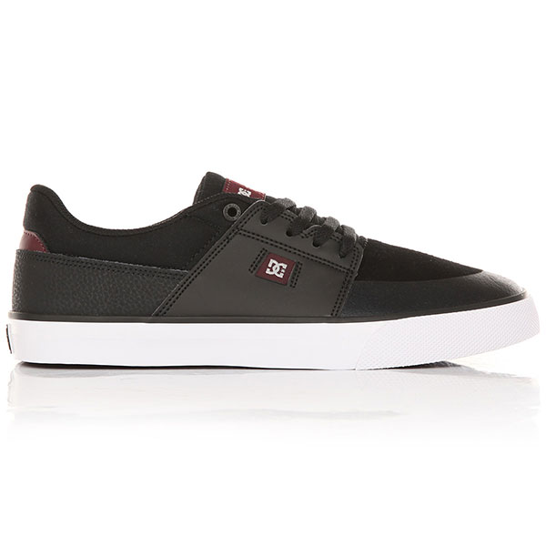 Кеды низкие DC Wes Kremer Black/Oxblood