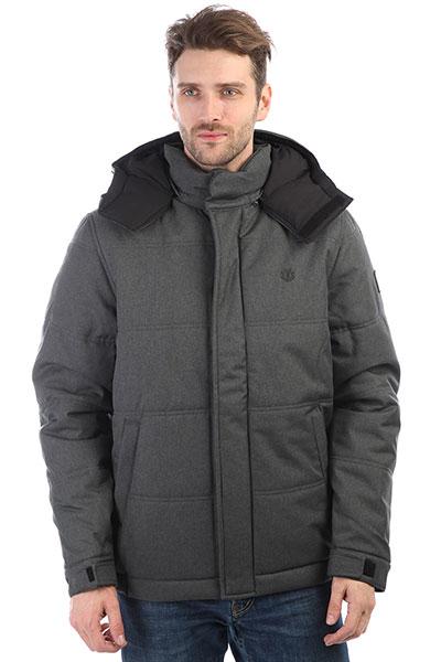 Куртка зимняя Element Dulcey Puff Flint Black Htr