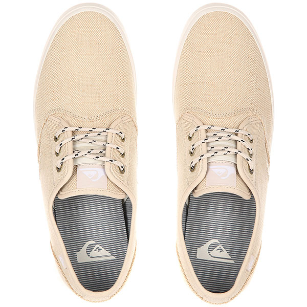 Кеды низкие Quiksilver Shorebreak Delu Tan - Solid