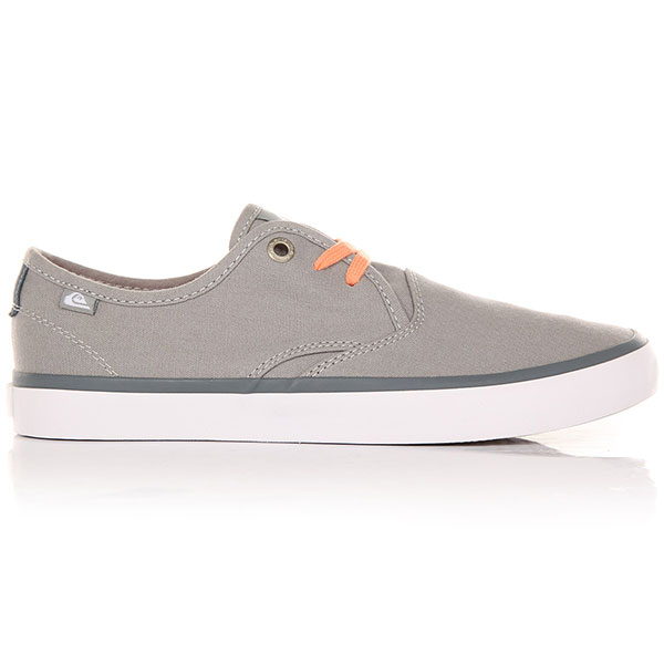 Кеды низкие детские Quiksilver Shorebreak Youth Grey/Grey/White