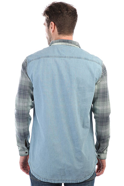 Рубашка Quiksilver Dumb&Surfer Blue Used