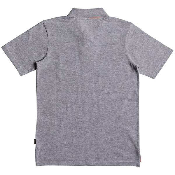 Поло детское Quiksilver Puakuyth Light Grey Heather