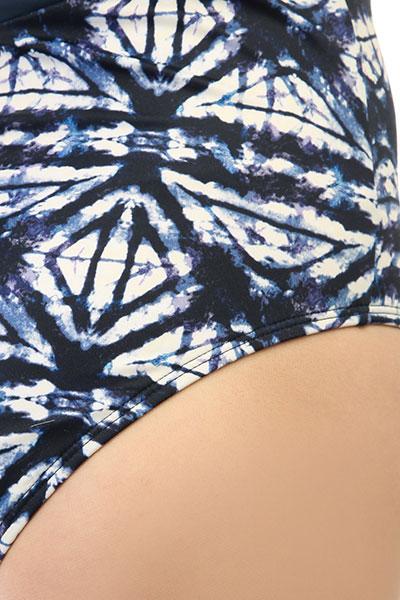 Гидрокостюм (Комбинезон) женский Roxy Ro Fi Onesie Dress Blues Geometri