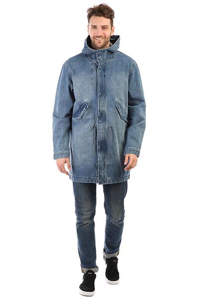 Куртка джинсовая Quiksilver Brickdrenimjkt Blue Used