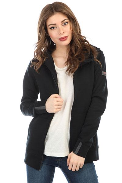 Толстовка классическая женская Roxy Wrap It Up True Black