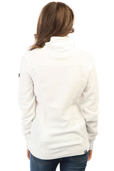 Толстовка классическая женская Roxy Drifted Bright White