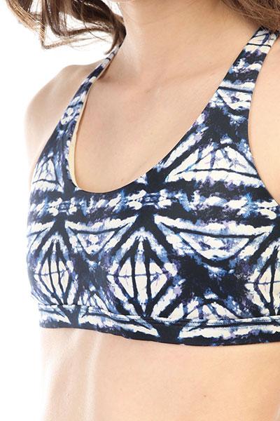 Бюстгальтер женский Roxy Spirit Bra Dress Blues Geometri