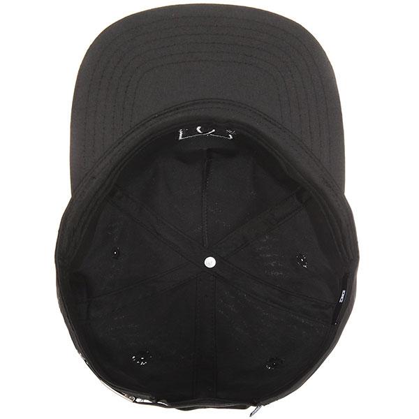 Бейсболка с прямым козырьком DC Floora Black