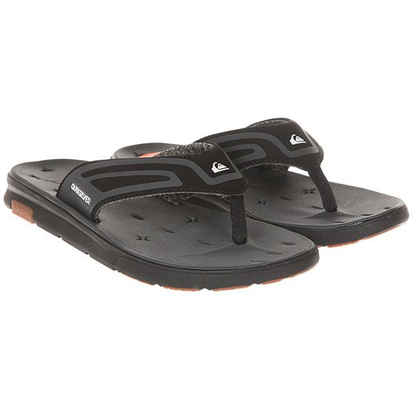 Вьетнамки Quiksilver Amphibplussand Black/Black/Grey