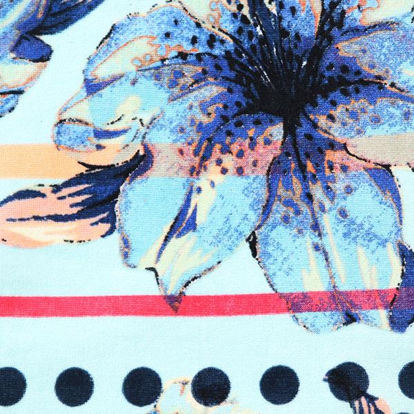 Полотенце женское Roxy Hazy Blue Light Rain Daze