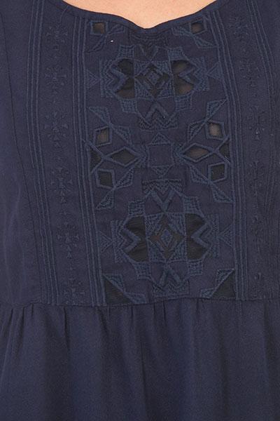 Блузка женский Roxy Inthemorning Dress Blues