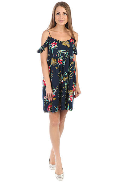 Платье женское Roxy Doitmyway Dress Blue Isle