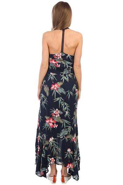 Платье женское Roxy Groovethephysyc Dress Blue Isle