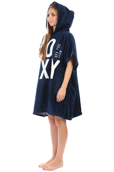Пончо женский Roxy Pass This On So Dress Blues